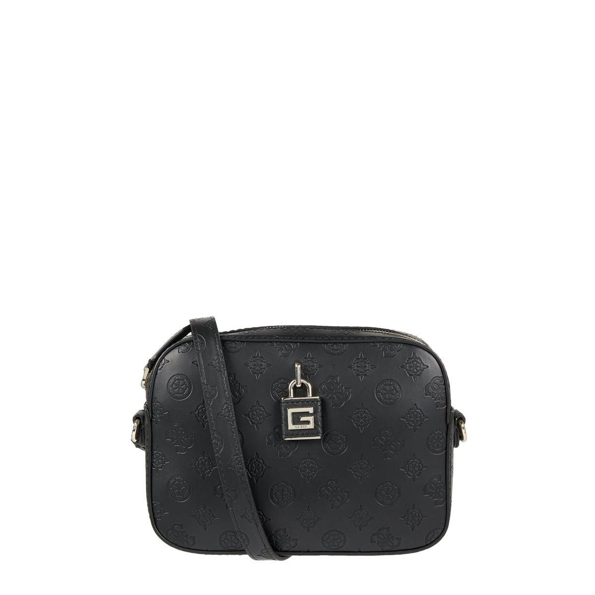 Guess Camera Bag in Leder-Optik Modell 'Kamryn'