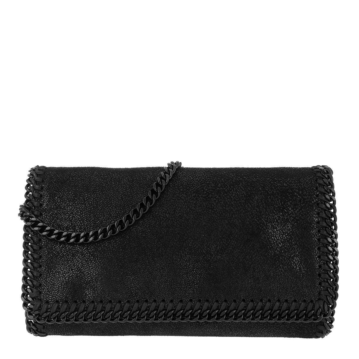 Stella McCartney Clutch - Falabella Chain Clutch Black - in schwarz - für Damen