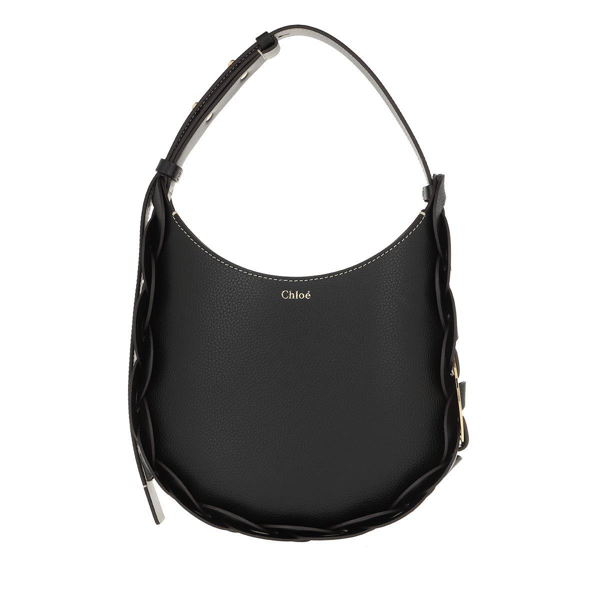 Chloé Hobo Bag - Darryl Small Hobo Bag Leather Black - in schwarz - für Damen