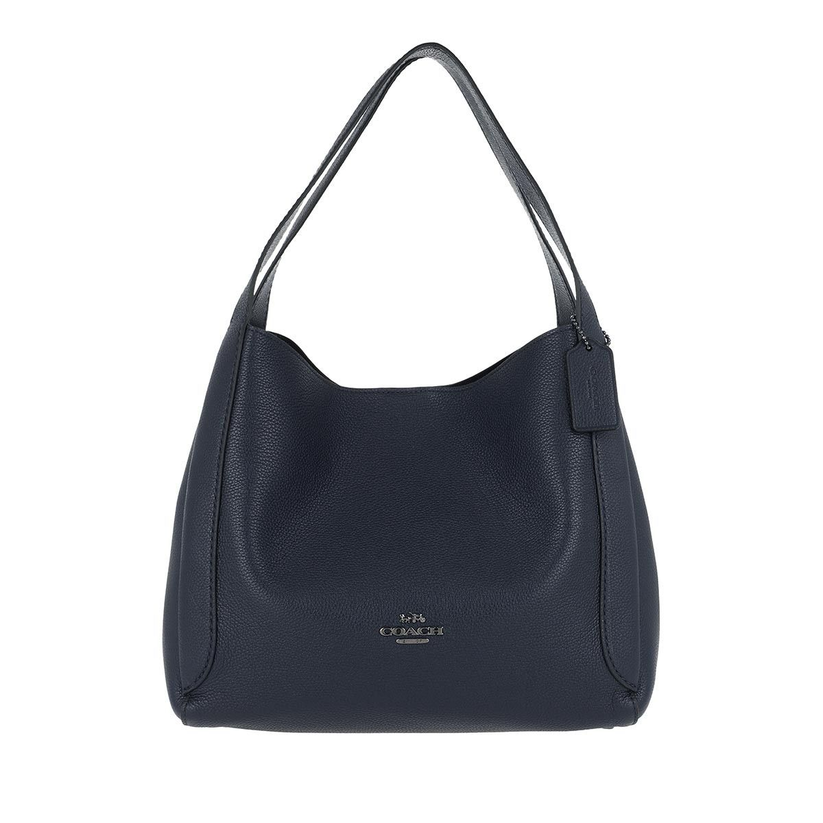 Coach Hobo Bag - Polished Pebble Leather Hadley Hobo Gm/Midnight Navy - in marine - für Damen