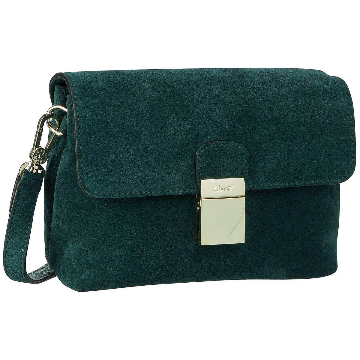 Abro Handtasche Suede 28736 Abendtaschen grün Damen